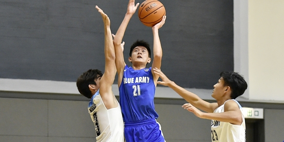 Most Efficient Player Week 5: Wing Kwan Chan (Blue Army)